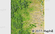 Satellite Map of Kampong Speu