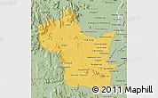 Savanna Style Map of Kampong Speu