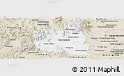 Classic Style Panoramic Map of Oral