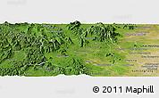 Satellite Panoramic Map of Oral