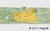Savanna Style Panoramic Map of Oral