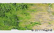Satellite Panoramic Map of Kampong Speu