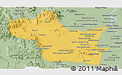 Savanna Style Panoramic Map of Kampong Speu