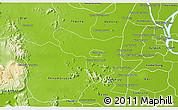 Physical 3D Map of Samrong Tong