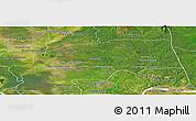 Satellite Panoramic Map of Santuk