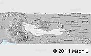 Gray Panoramic Map of Chhouk