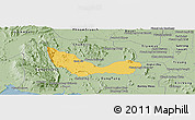Savanna Style Panoramic Map of Chhouk