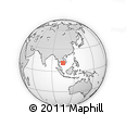 Outline Map of Kandal Stung