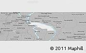 Gray Panoramic Map of Kean Svey