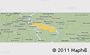 Savanna Style Panoramic Map of Kean Svey