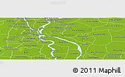 Physical Panoramic Map of Lvea Em