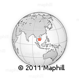 Outline Map of Kandal