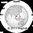 Outline Map of Ponhea Leu