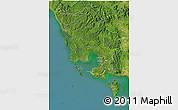Satellite 3D Map of Koh Kong
