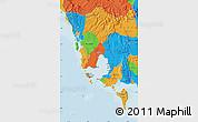 Political Map of Koh Kong