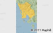 Savanna Style Map of Koh Kong
