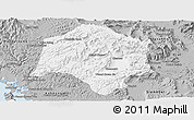 Gray Panoramic Map of Thmar Baing