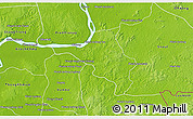 Physical 3D Map of Chlong