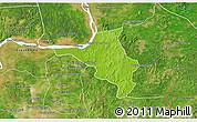 Physical 3D Map of Chlong, satellite outside