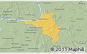 Savanna Style 3D Map of Chlong
