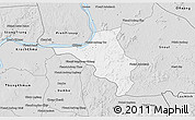 Silver Style 3D Map of Chlong