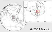 Blank Location Map of Chlong