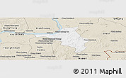 Classic Style Panoramic Map of Chlong