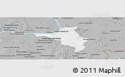 Gray Panoramic Map of Chlong