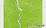 Physical 3D Map of Sambo