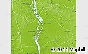 Physical Map of Sambo