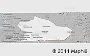 Gray Panoramic Map of Snoul