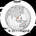 Outline Map of Mondul Kiri