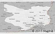 Gray Panoramic Map of Mondul Kiri