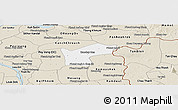 Classic Style Panoramic Map of Kamchay Mear