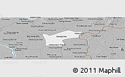 Gray Panoramic Map of Kamchay Mear