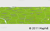 Physical Panoramic Map of Kamchay Mear