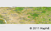 Satellite Panoramic Map of Kamchay Mear