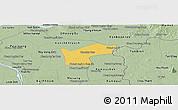 Savanna Style Panoramic Map of Kamchay Mear