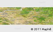 Satellite Panoramic Map of Kanch Chreach