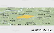 Savanna Style Panoramic Map of Kanch Chreach