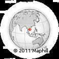Outline Map of Bakan