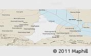 Classic Style Panoramic Map of Bakan