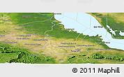 Satellite Panoramic Map of Bakan