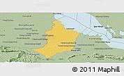 Savanna Style Panoramic Map of Bakan