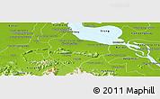 Physical Panoramic Map of Krakor