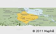 Savanna Style Panoramic Map of Krakor