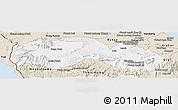 Classic Style Panoramic Map of Kravanh