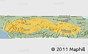 Savanna Style Panoramic Map of Kravanh