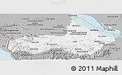 Gray Panoramic Map of Pursat