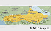 Savanna Style Panoramic Map of Pursat